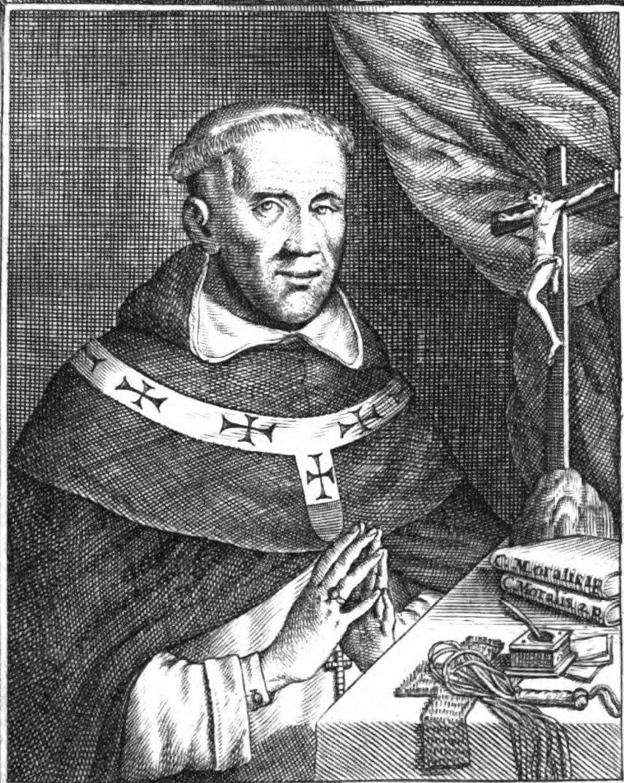 Depiction of Pedro de Tapia