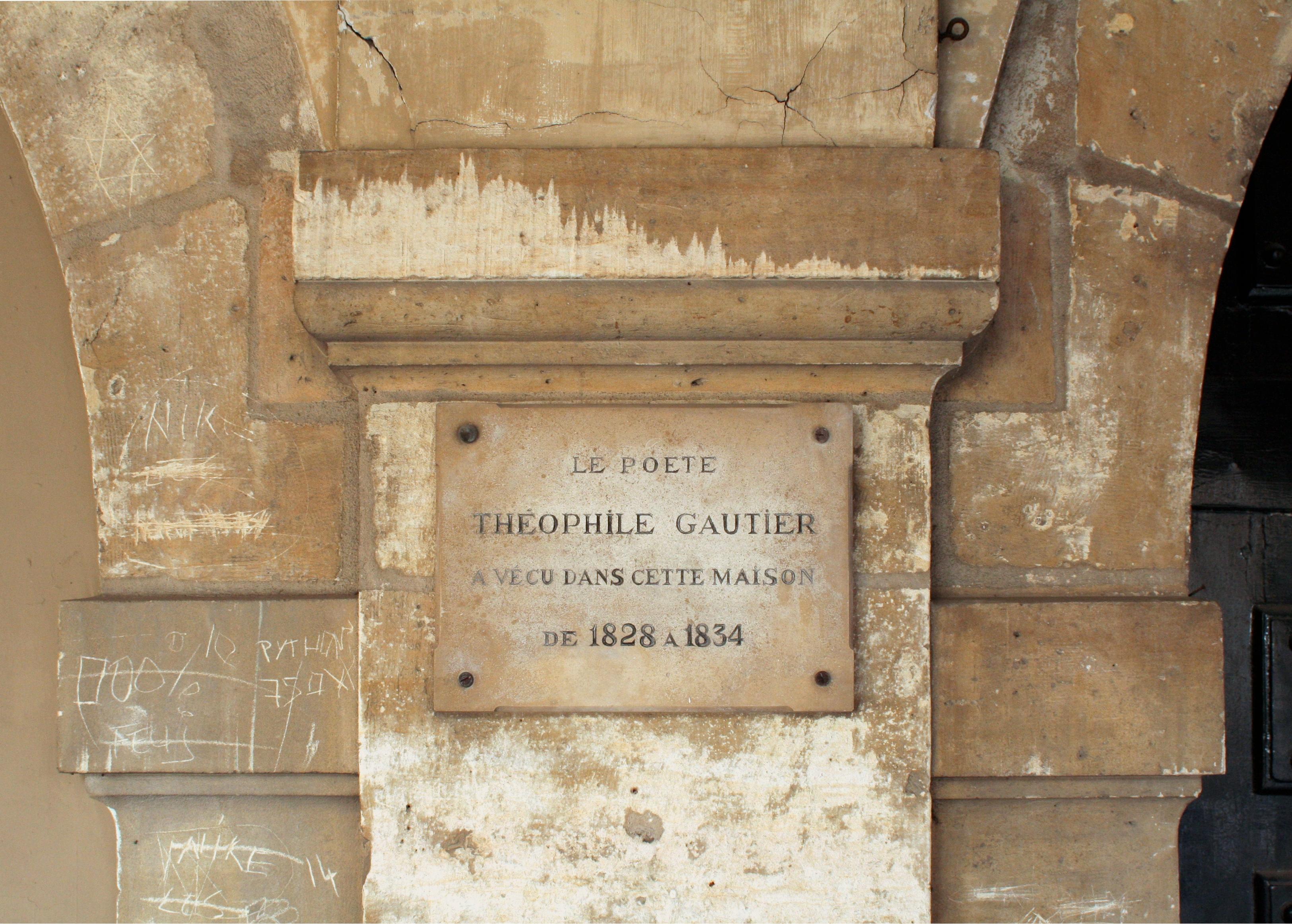 Fichier plaque th ophile gautier 8 place des vosges jpg wikip dia - Les maisons gautier ...