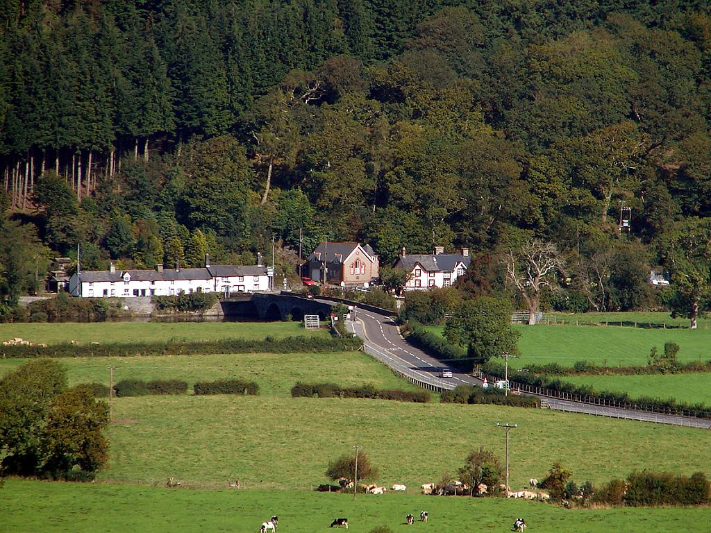 Pont ar Ddyfi - geograph.org.uk - 240512