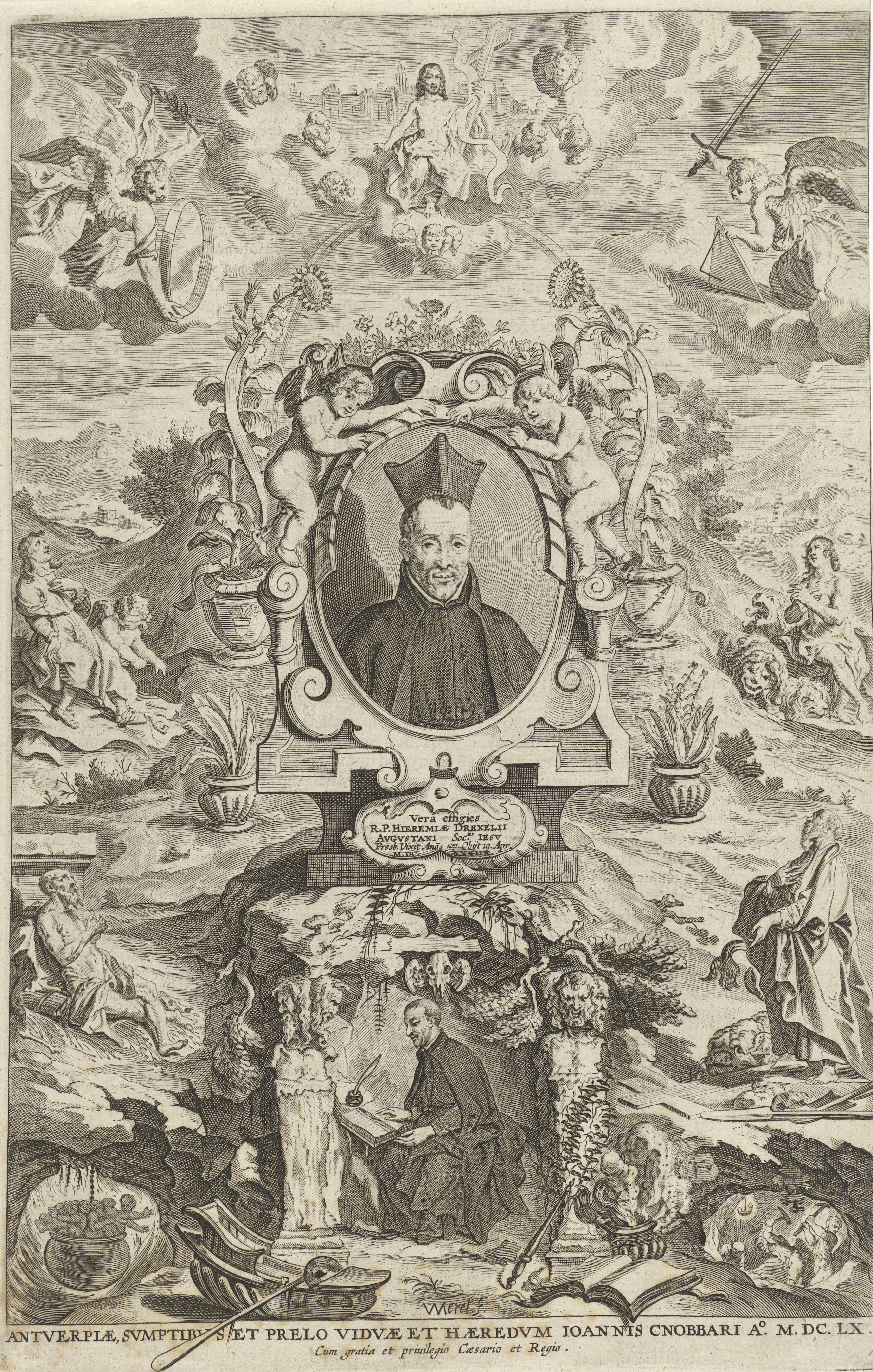 Portrait of Jeremias Drexel S.J.
