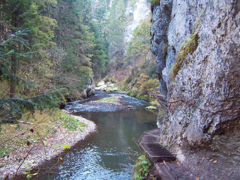 Prielom Hornádu v Slovenskom Raji