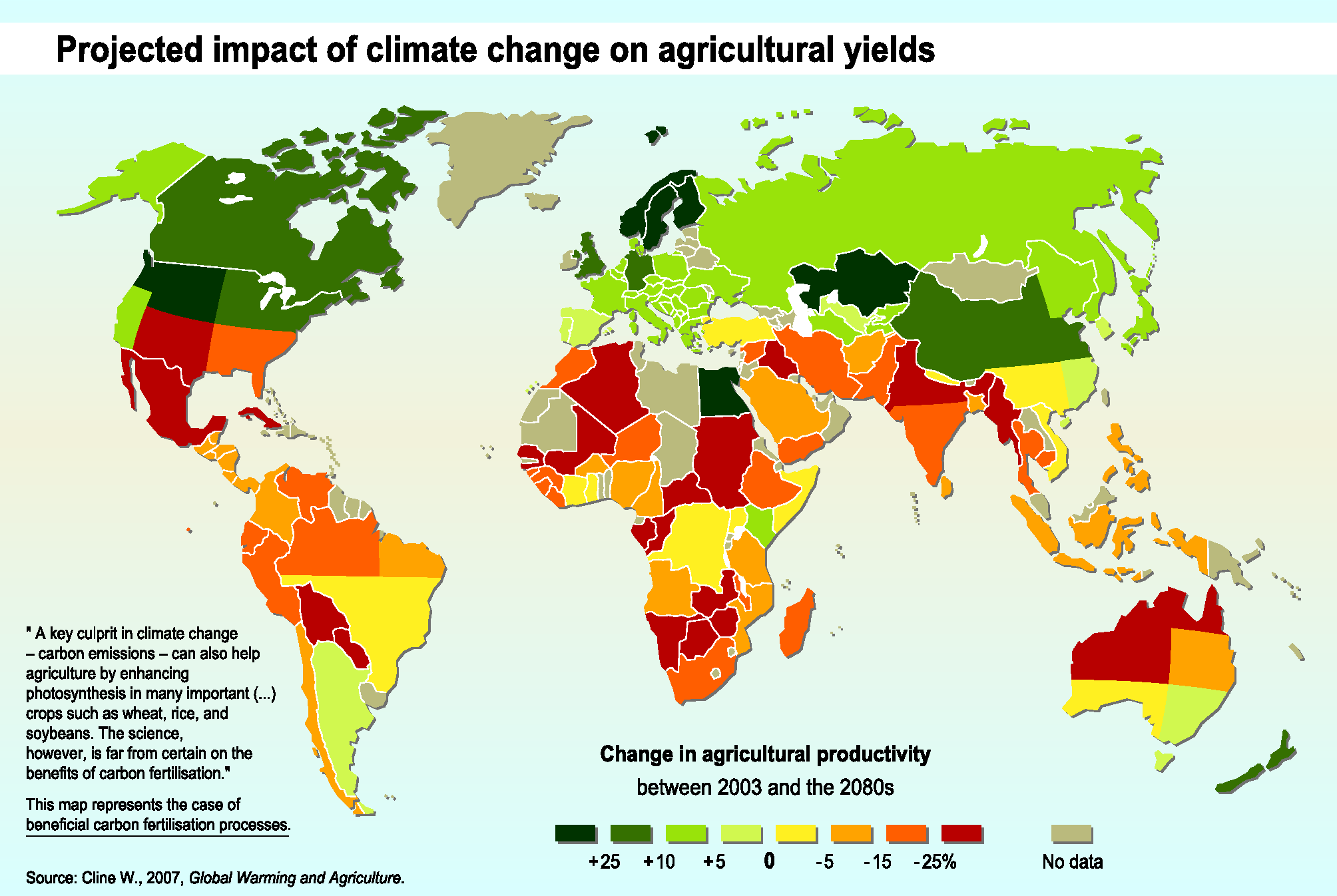 a look at the effect of climate change on food supply of the earth