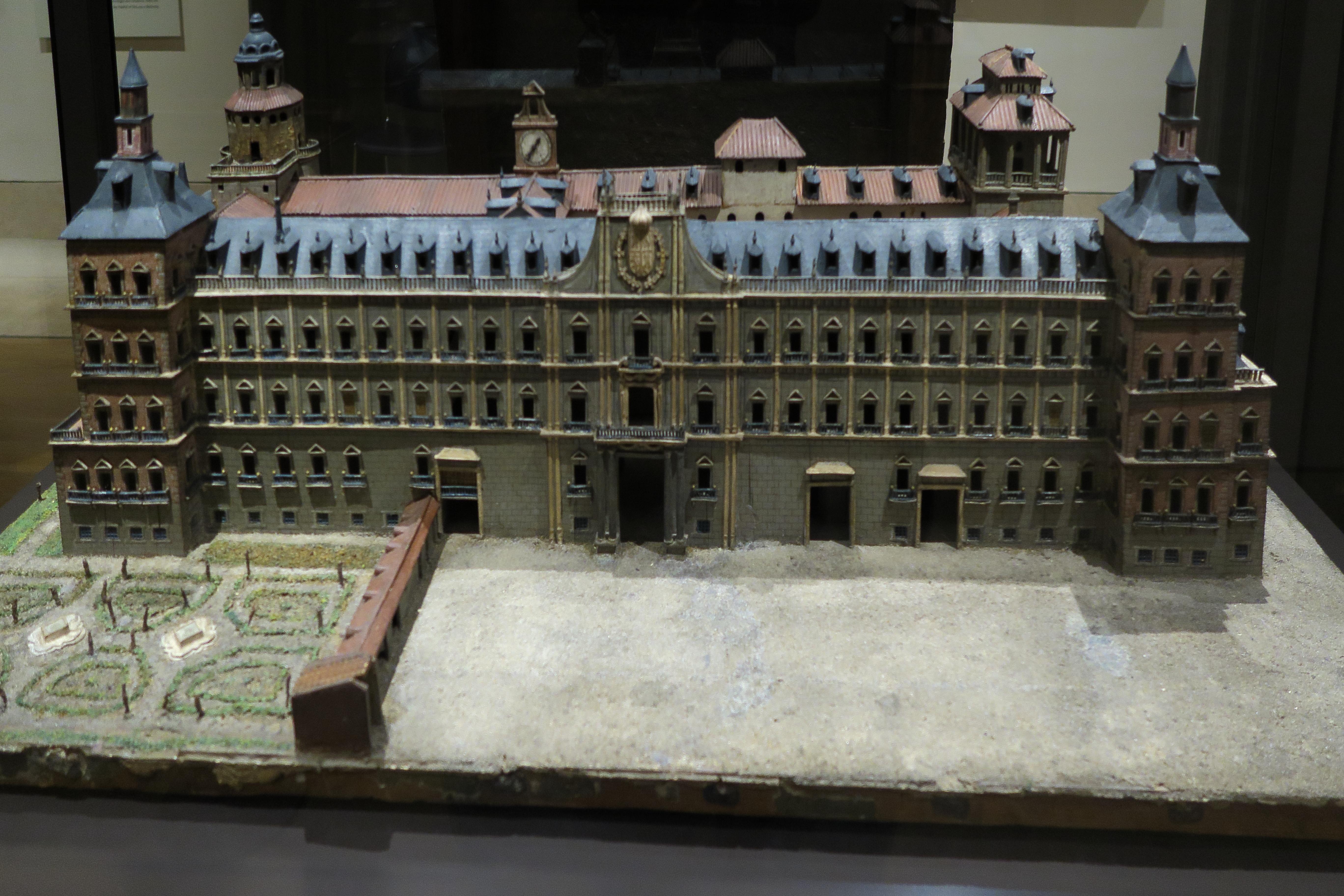 Museo Real Madrid.File Real Alcazar De Madrid Maqueta En El Museo De Historia De