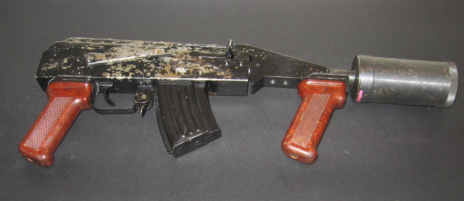 loading image for Kalashnikov grenade launcher