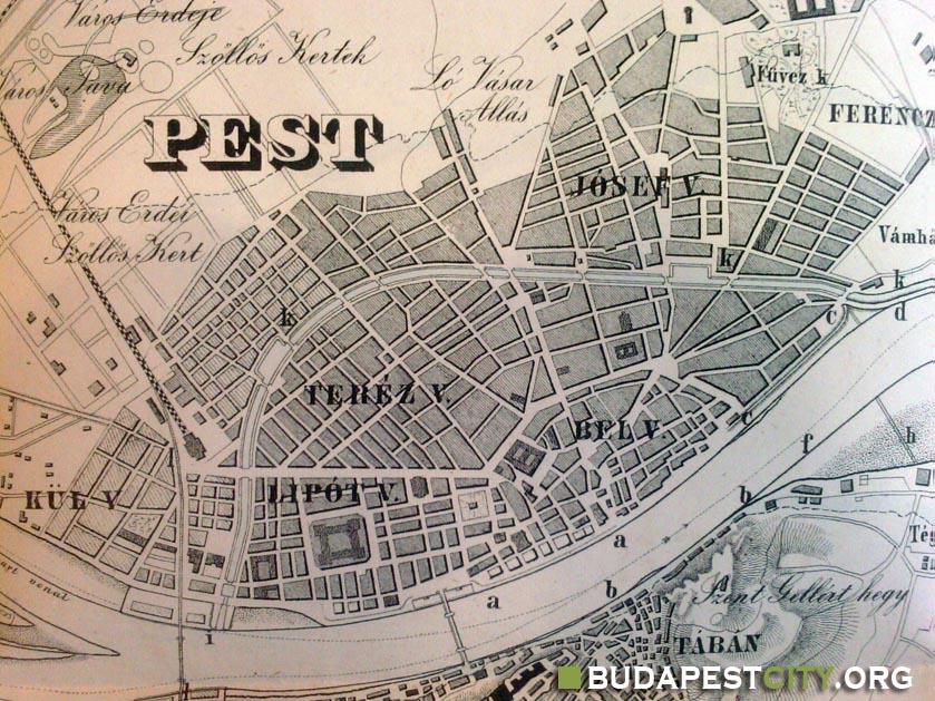 budapest térkép 1848 File:Reitter csatorna.   Wikimedia Commons budapest térkép 1848