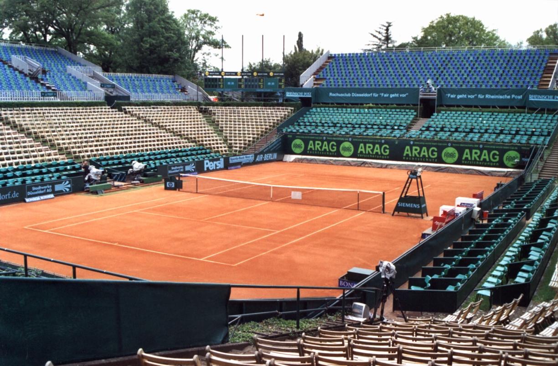 tennisbane længde