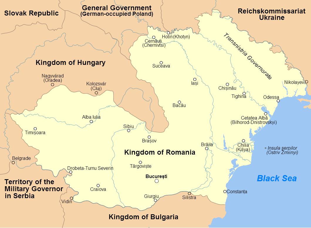 Transnistria Governorate Wikipedia - Transnistria map