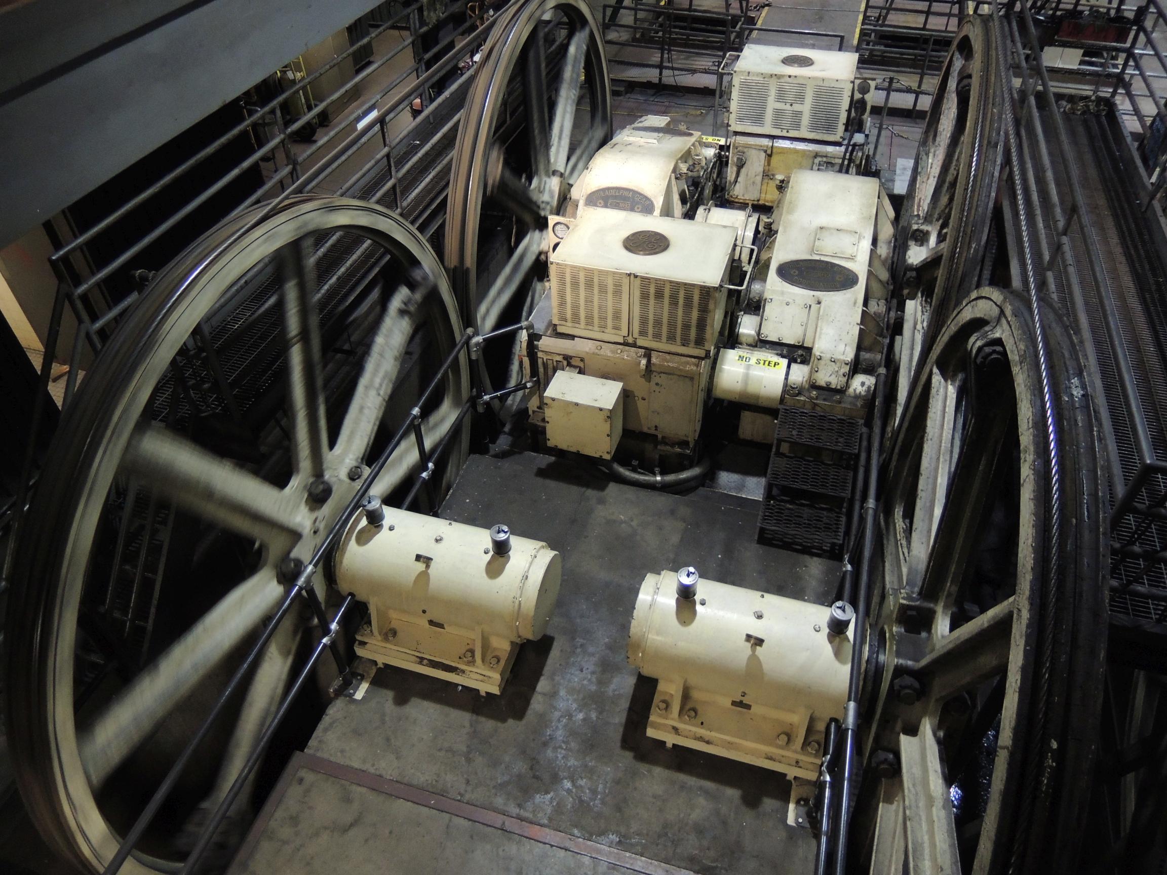 san francisco cable car mechanism