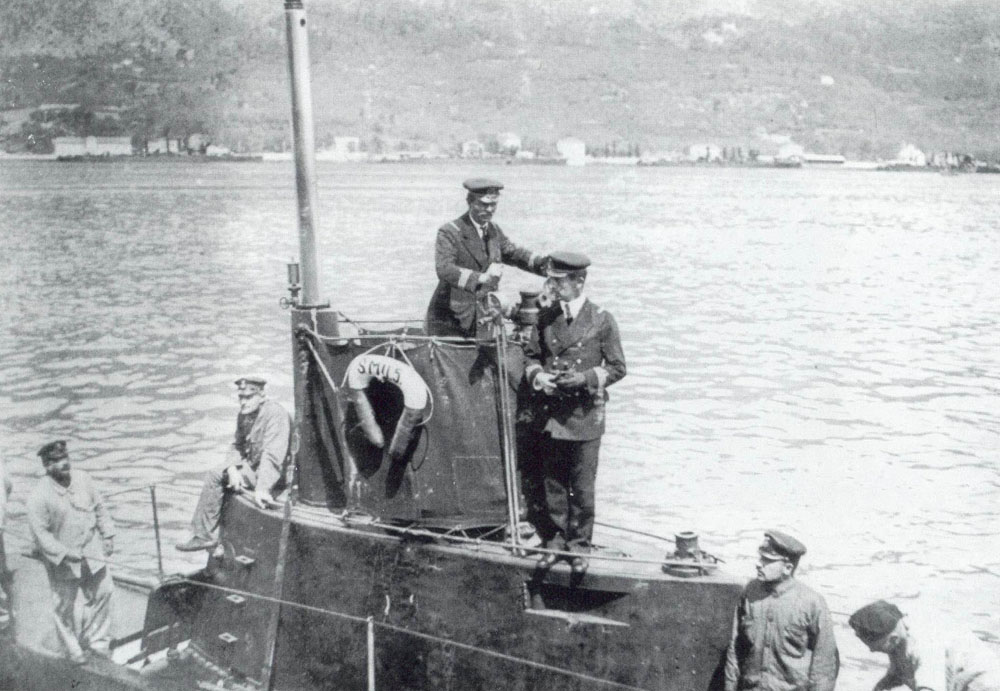 Austro-Hungarian naval duty