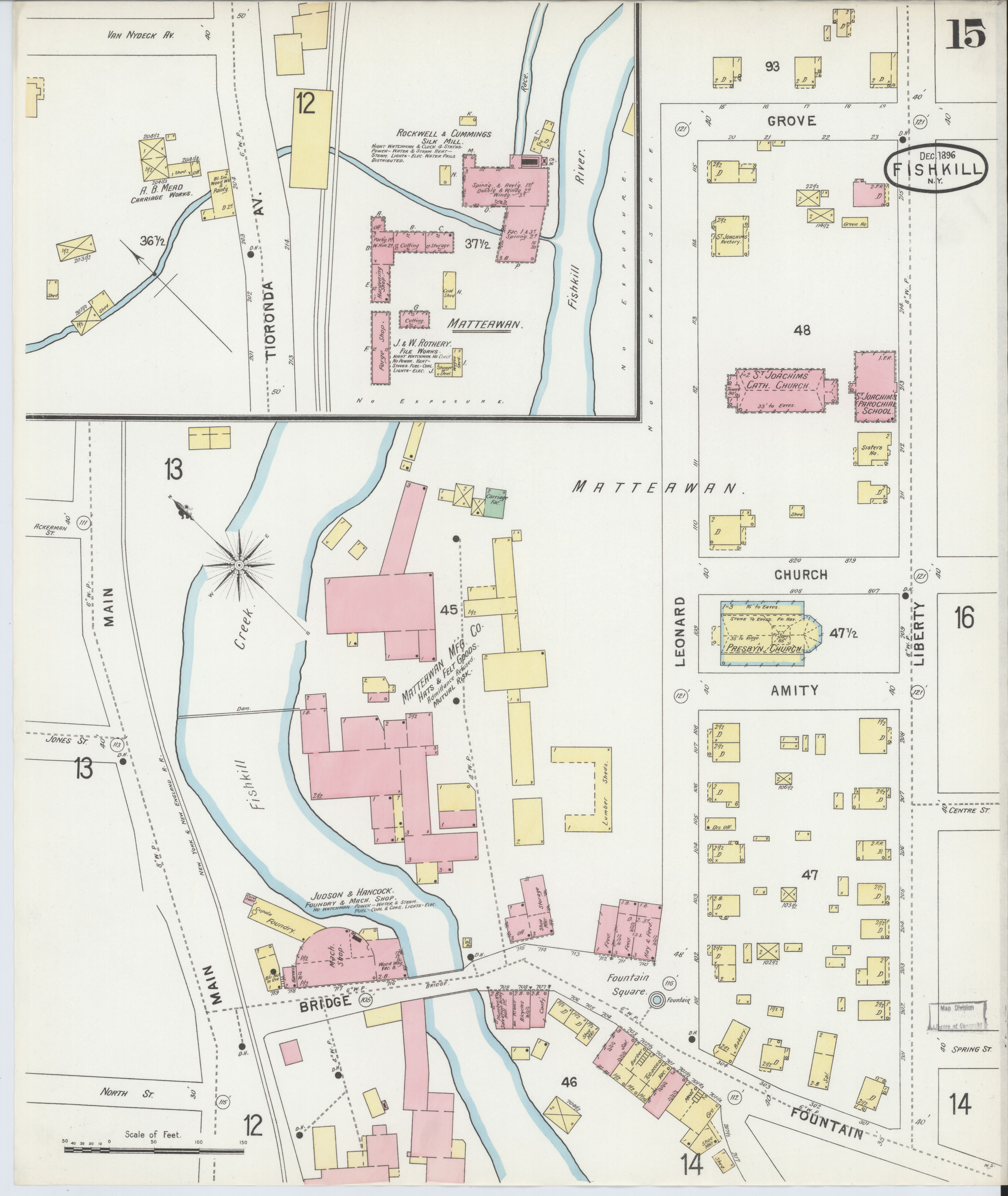 File:Sanborn Fire Insurance Map from Fishkill-on-the-hudson ...