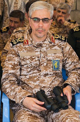 ملف:Sardar Mohammad Bagheri in Great Prophet Wargame in April 2016 by tasnimnews 01(cropped).jpg