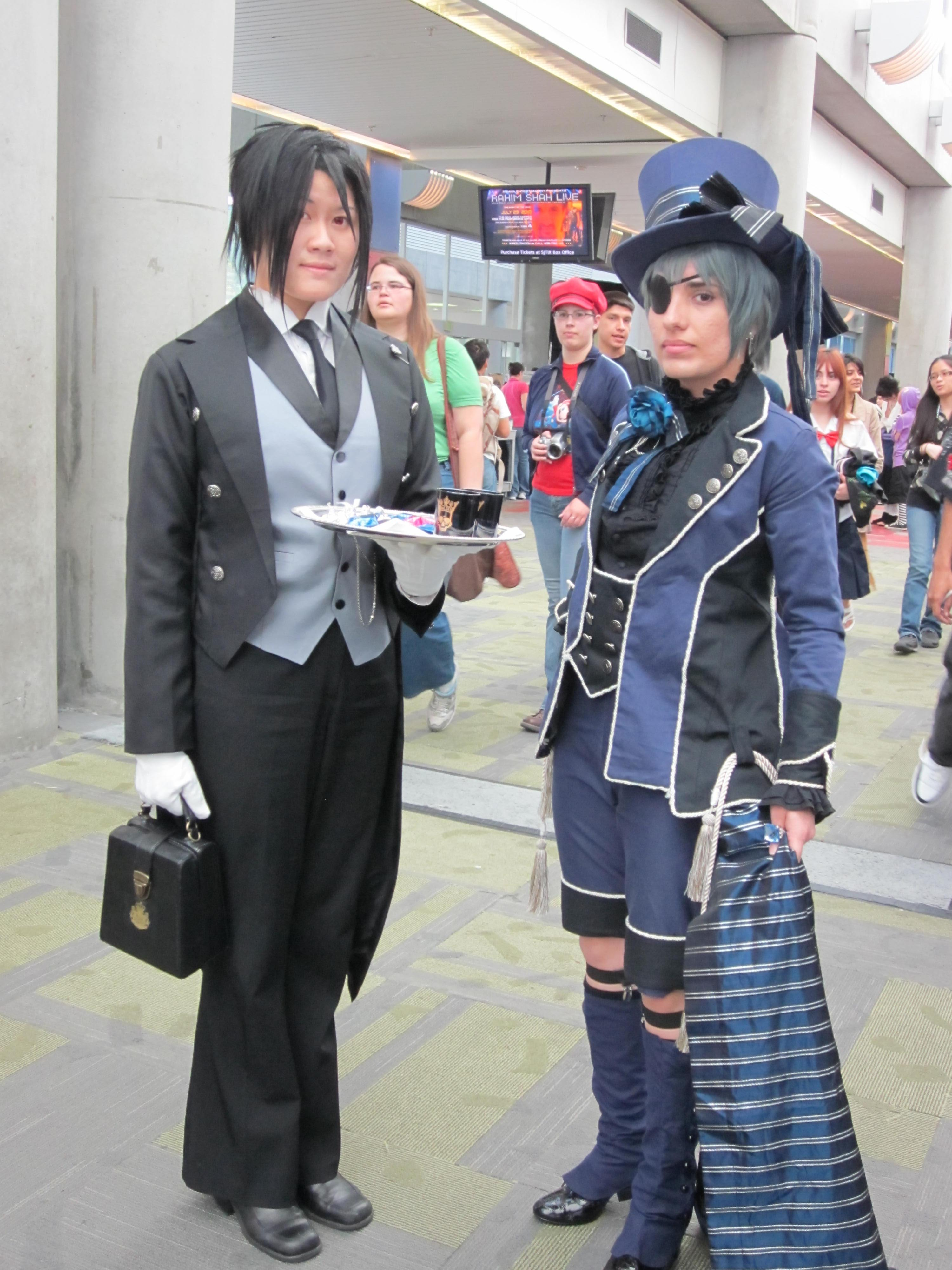 File sebastian michaelis ciel phantomhive cosplayers at fanimecon