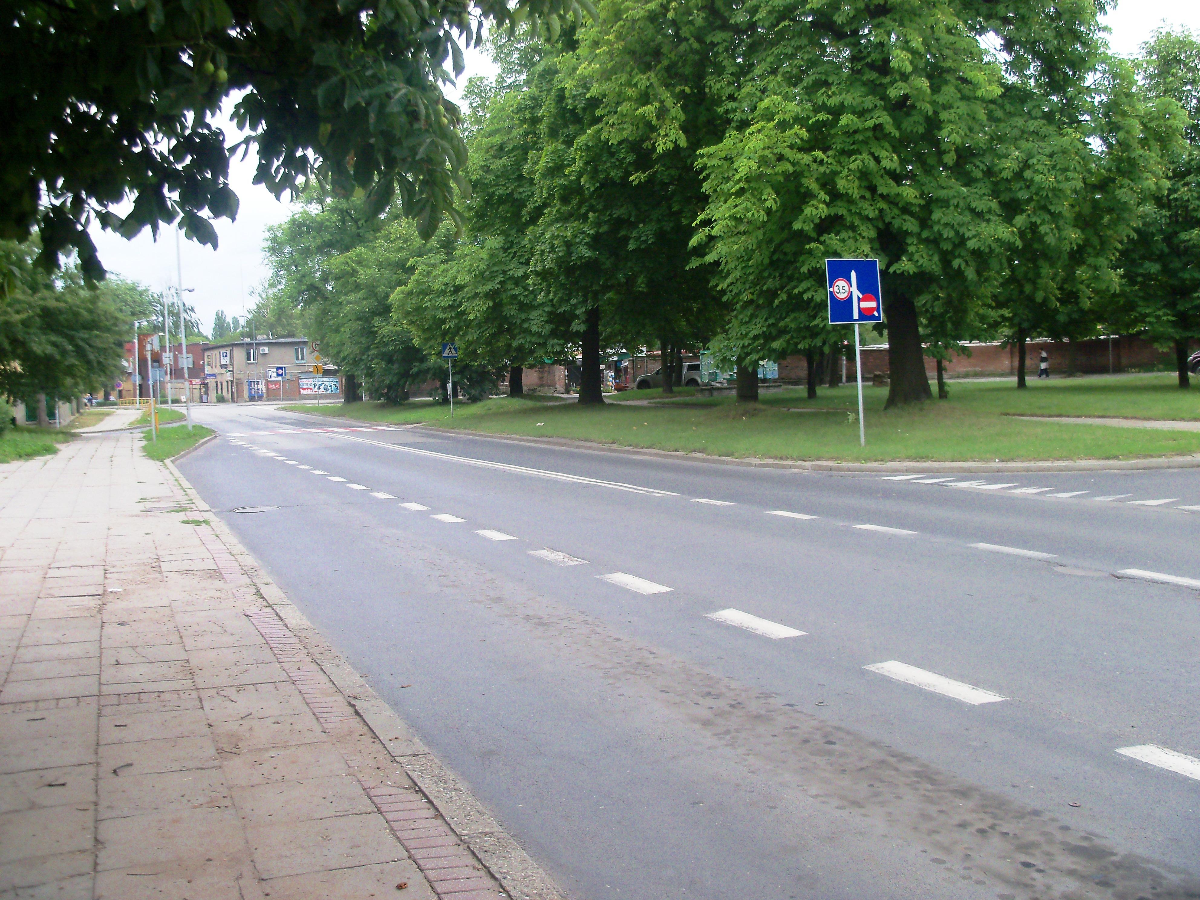 Ulica Elizy Orzeszkowej w Siemianowicach Śląskich