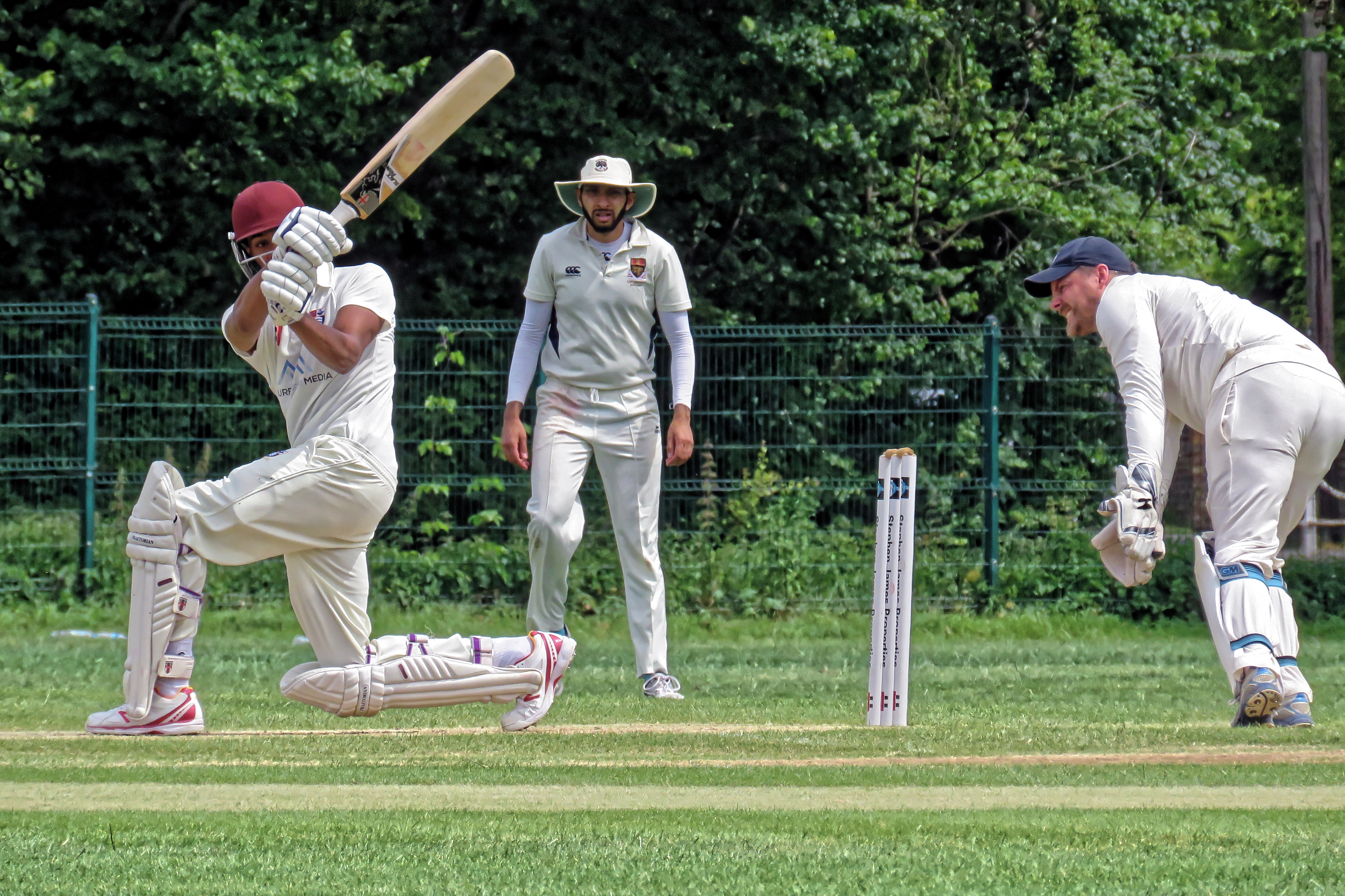 File:Southgate CC v Stanmore CC at Walker Cricket Ground