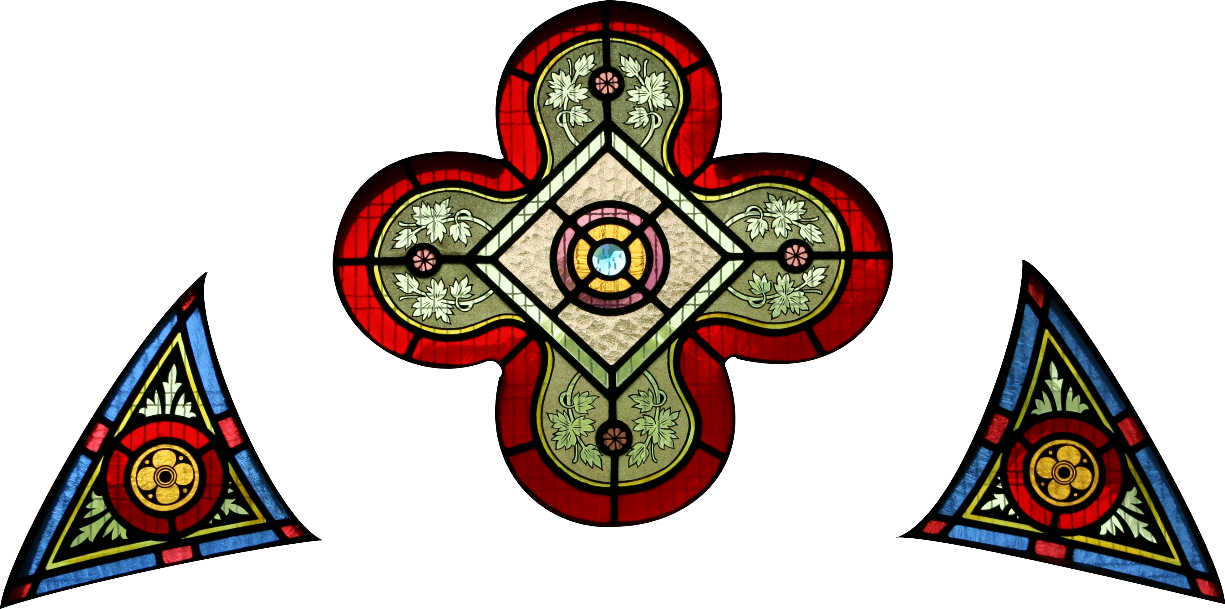 Church Stained Glass Png