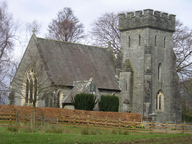 St Margaret's Church, Low Wray - geograph.org.uk - 129111