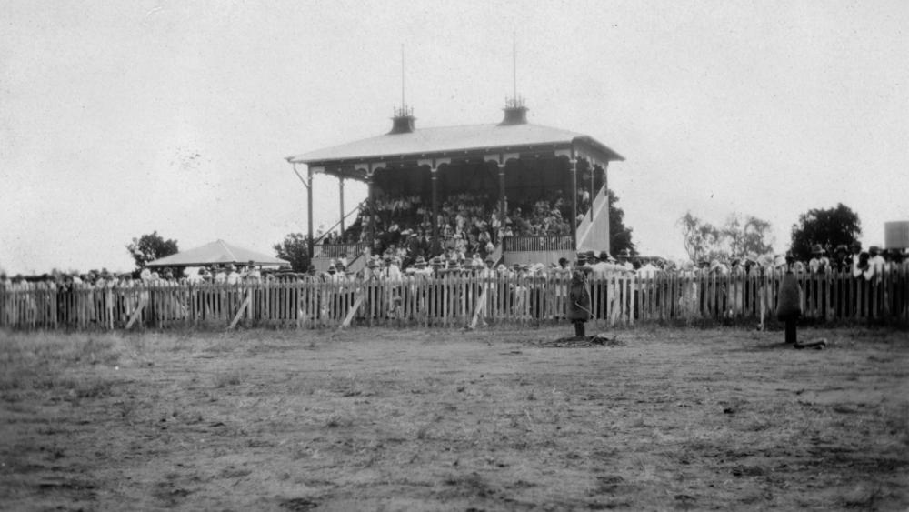 File Statelibqld 1 190151 Rodeo Crowd At Cloncurry