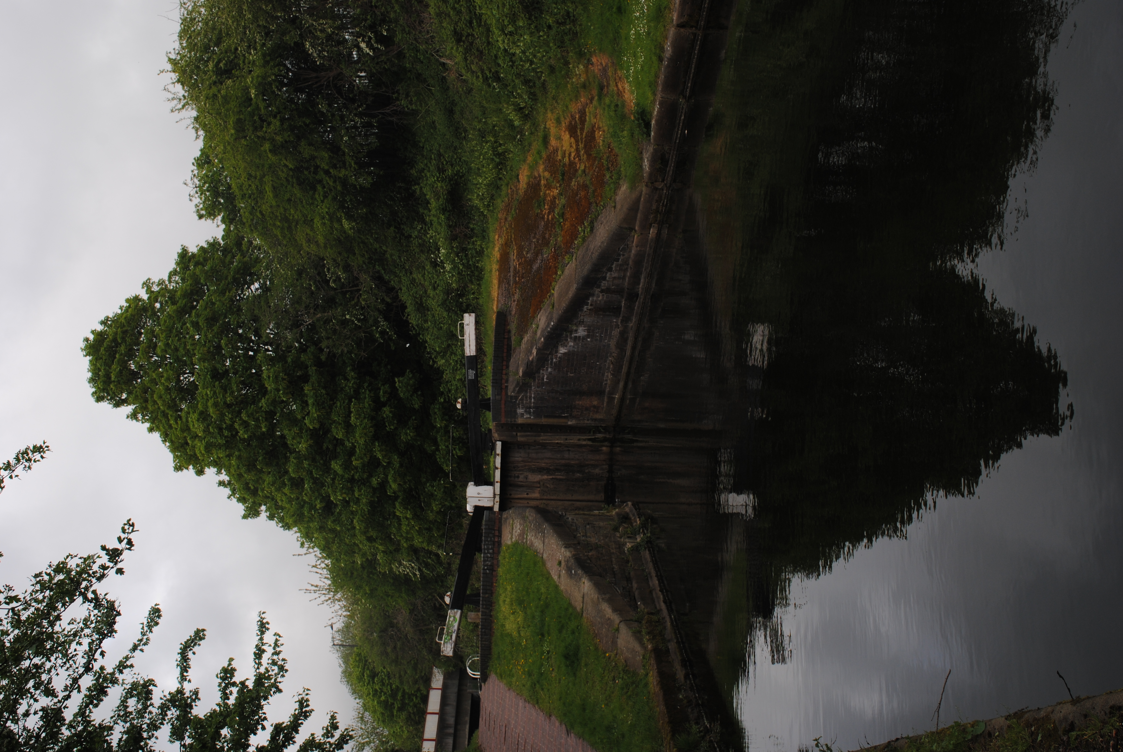 the copyright holder of this work, hereby publish it under the following license: English on the Tame Valley Canal at Perry Locks, Birmingham, England
