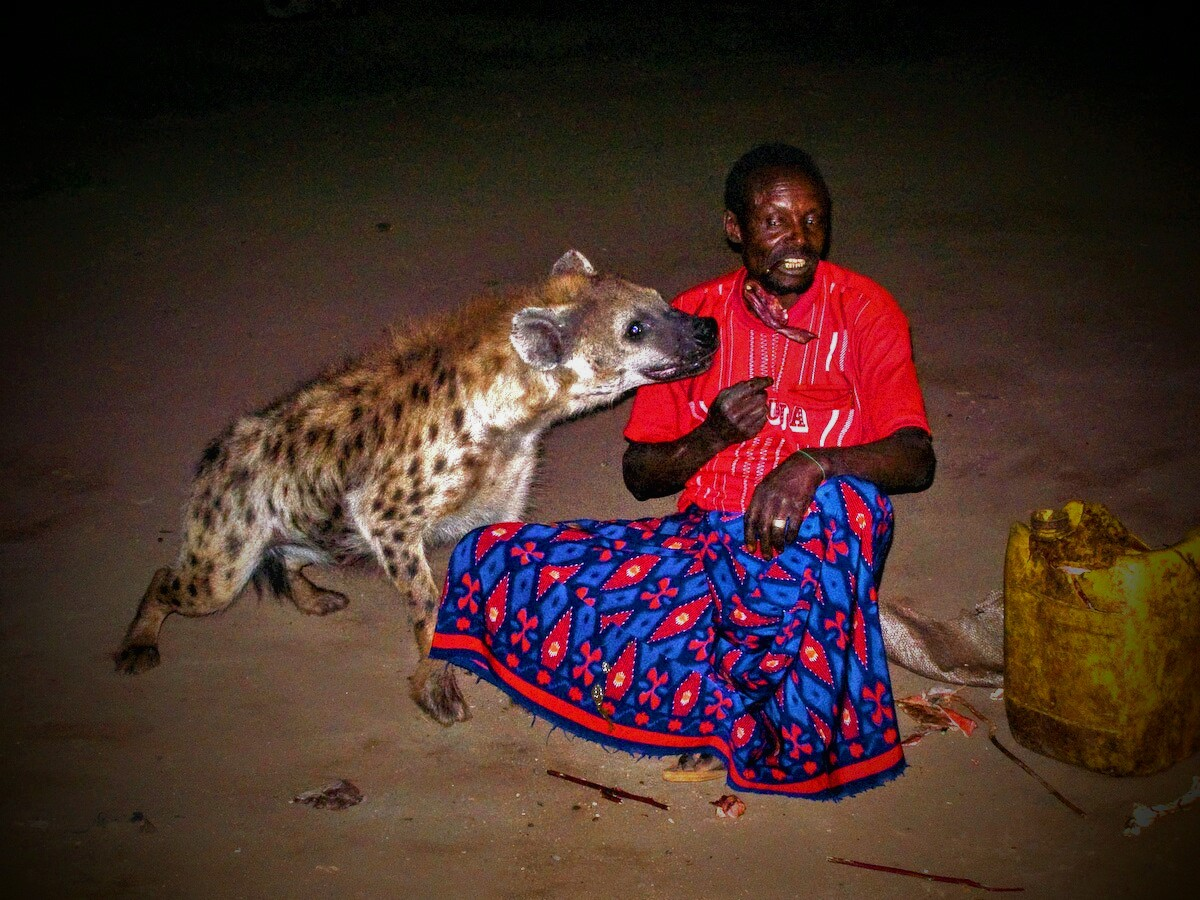 Description The Hyena Man of Harar.jpg