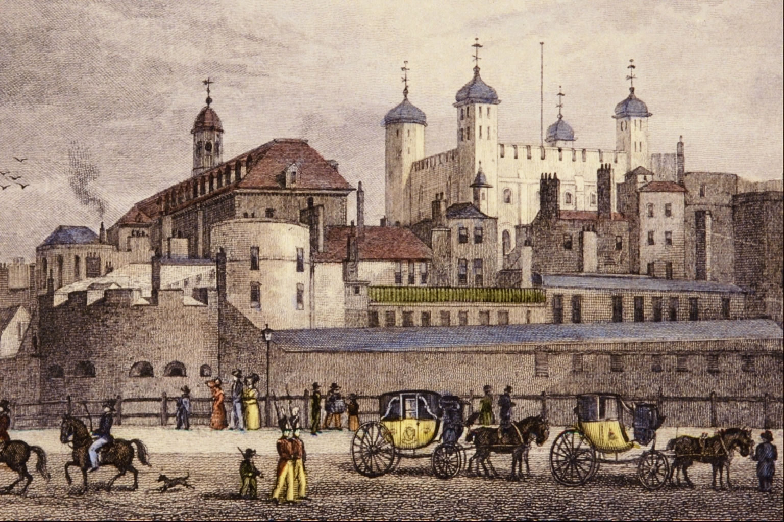 Datei The Tower Of London From Tower Thomas Homser Shepherd Png Wikipedia