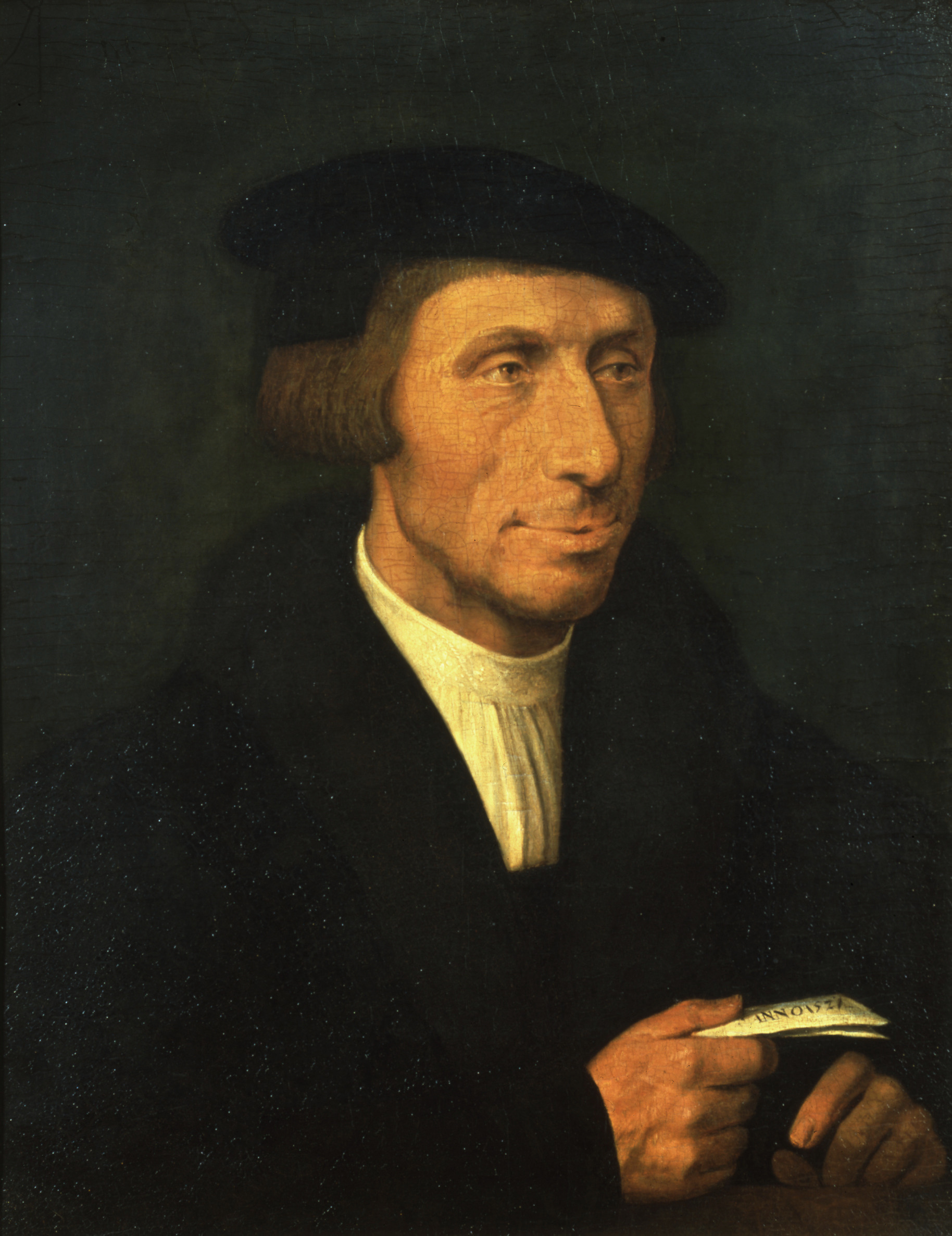 A likely portrait of Thomas Linacre