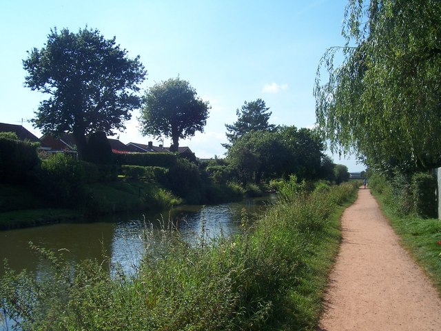Tiverton , Grand Western Canal - geograph.org.uk - 1264796