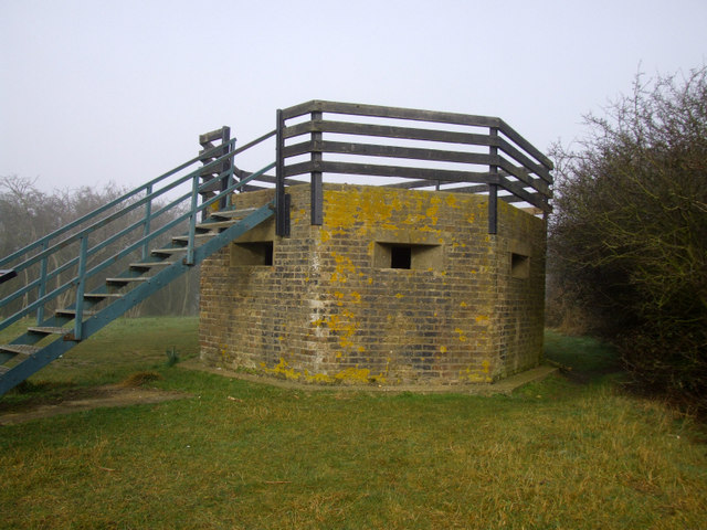 Type FW3-24 Pillbox at Wat Tyler country park - geograph.org.uk - 912209