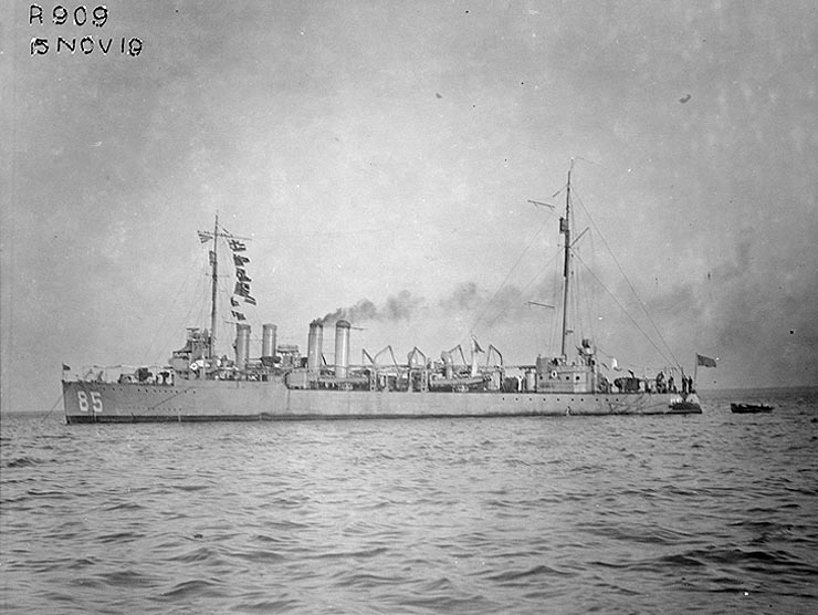 USS Colhoun (DD-85)