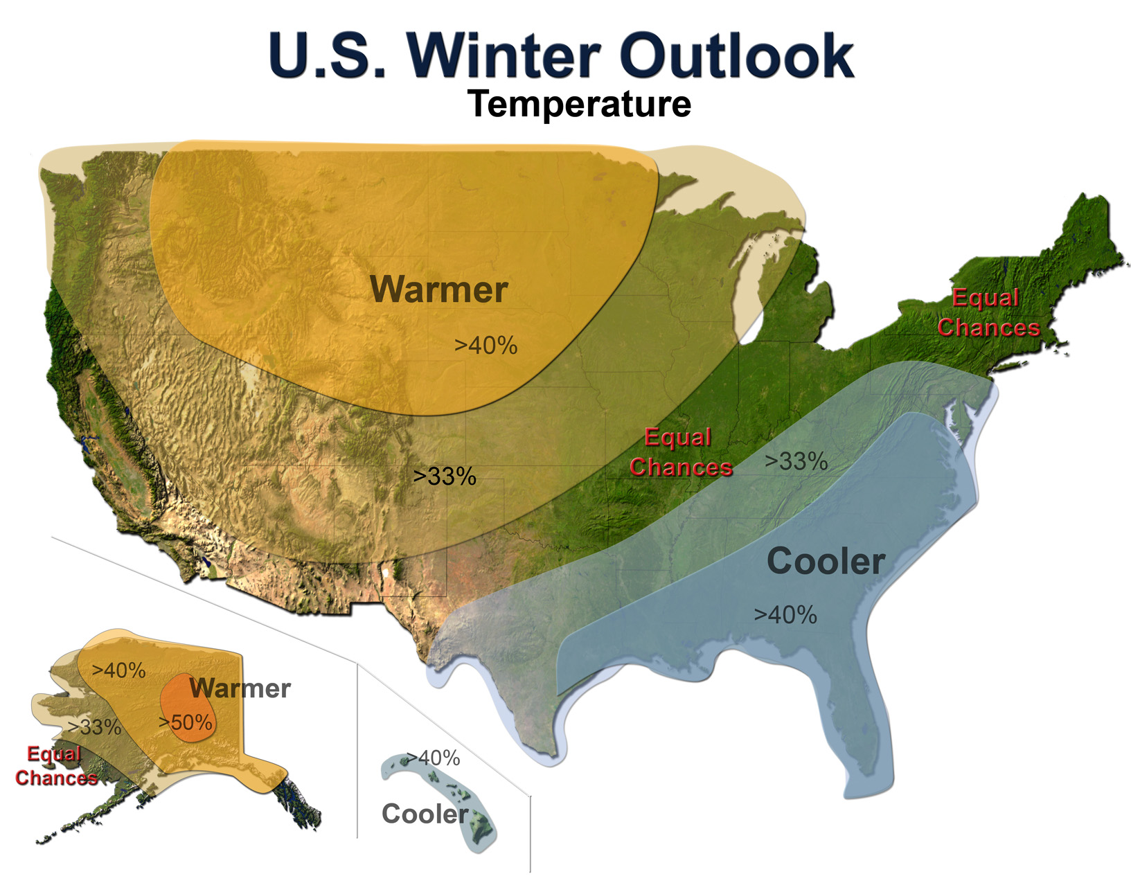 FileUS Temp Outlook Winter NOAAjpg Wikimedia Commons - Weather map of the us with temps