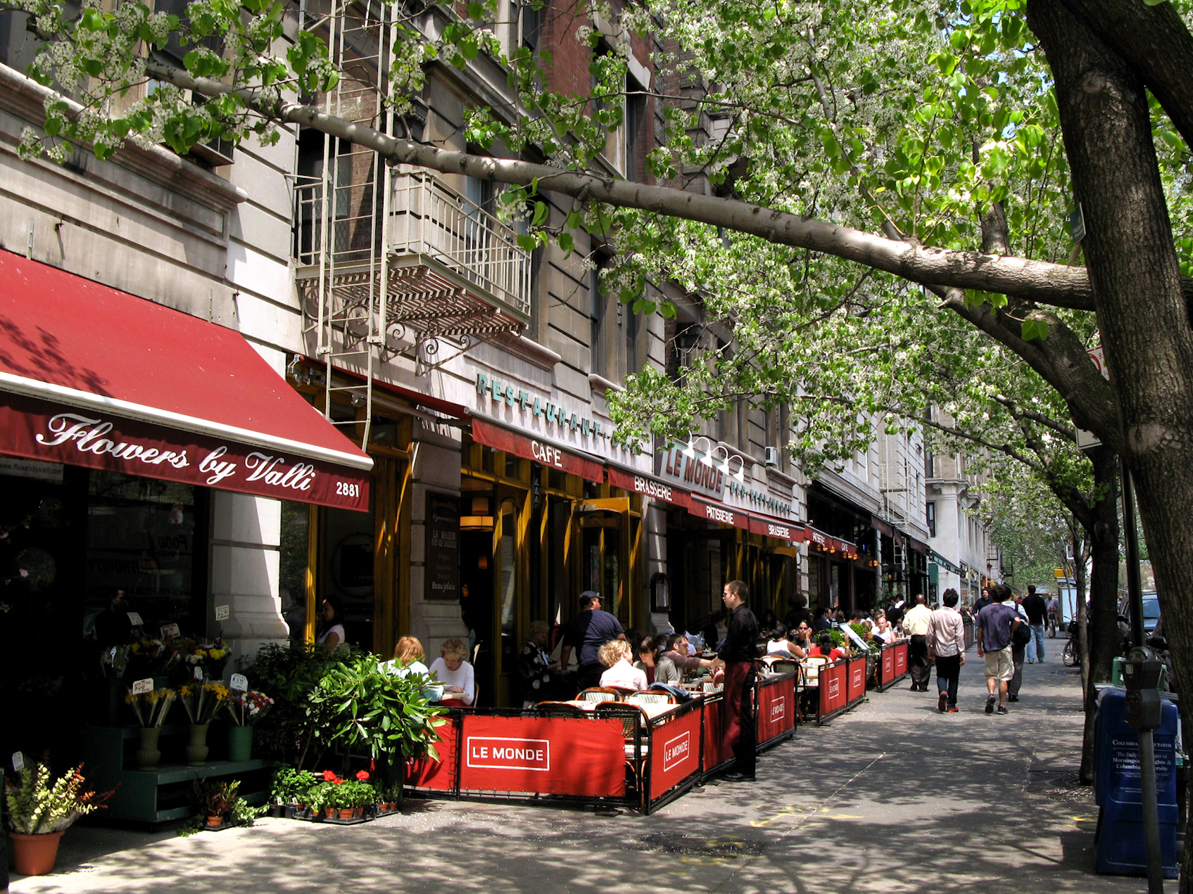 Cafes Upper West Side New York City