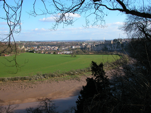 View over Chepstow from the Alcove - geograph.org.uk - 204193