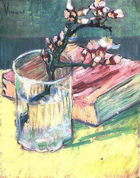 https://upload.wikimedia.org/wikipedia/commons/a/a9/Vincent_van_Gogh_-_Blossoming_Almond_Branch_in_a_Glass_with_a_Book.jpg
