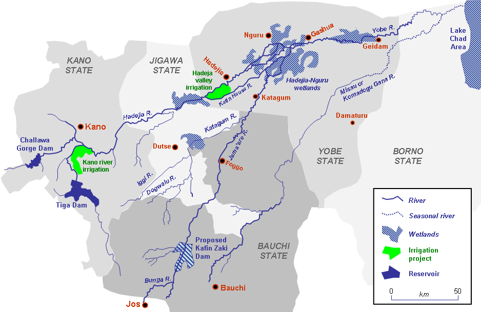 Description yobe river catchment area