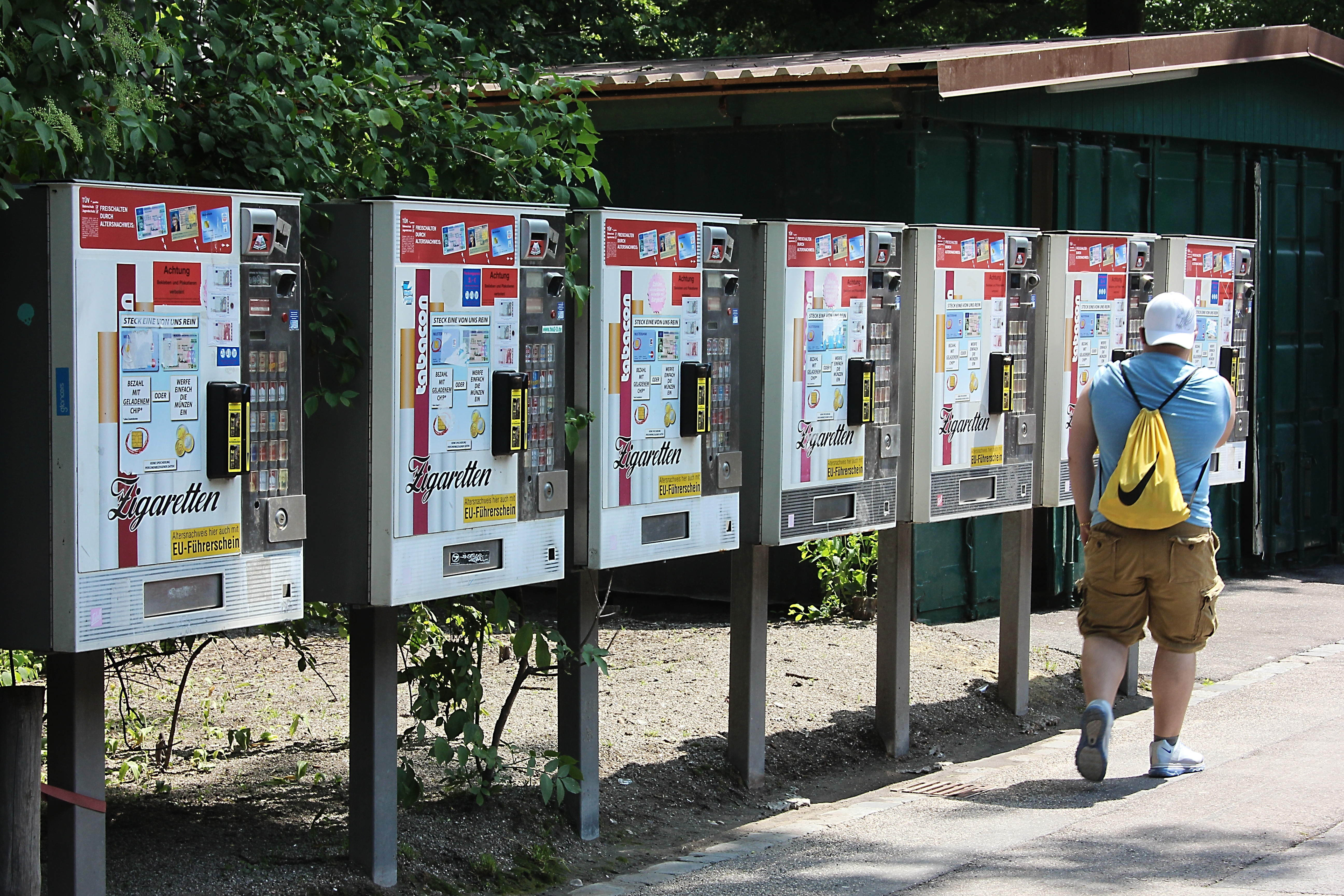 Zigarettenautomaten