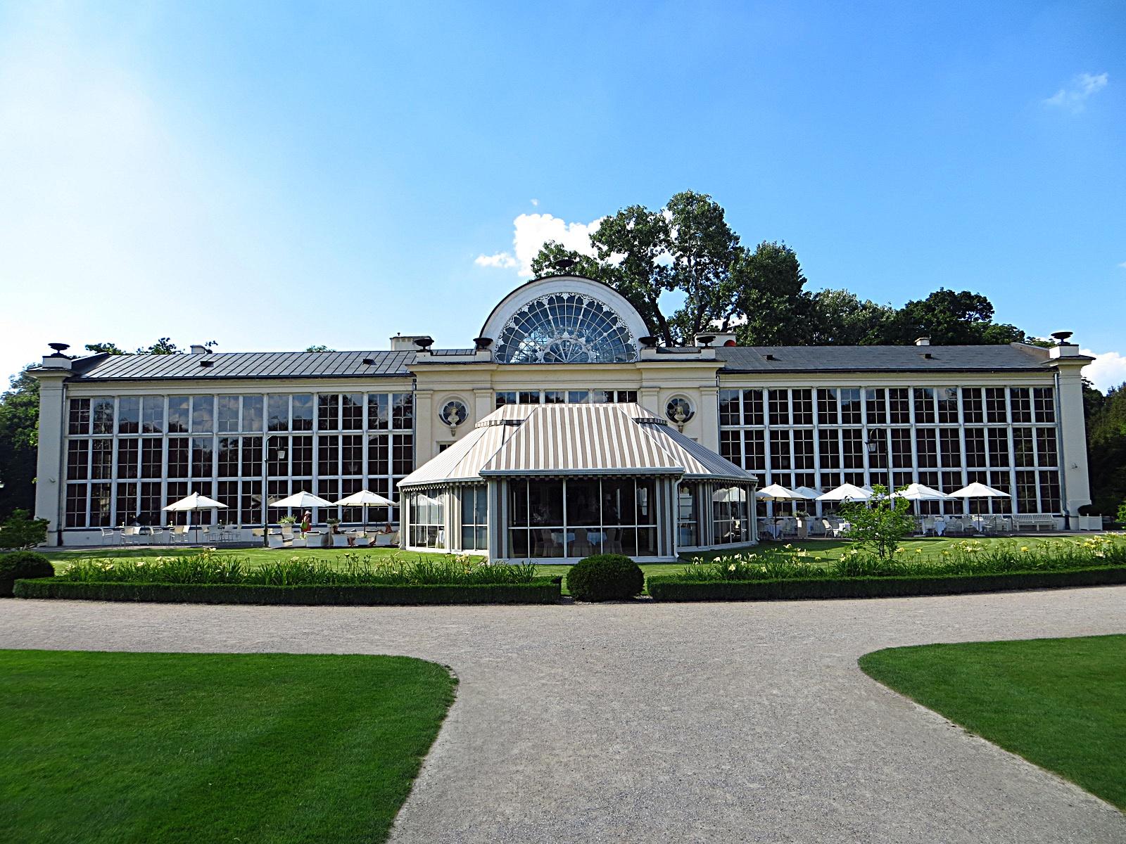 Filełazienki Królewskie Restauracja Belvedere Panoramio
