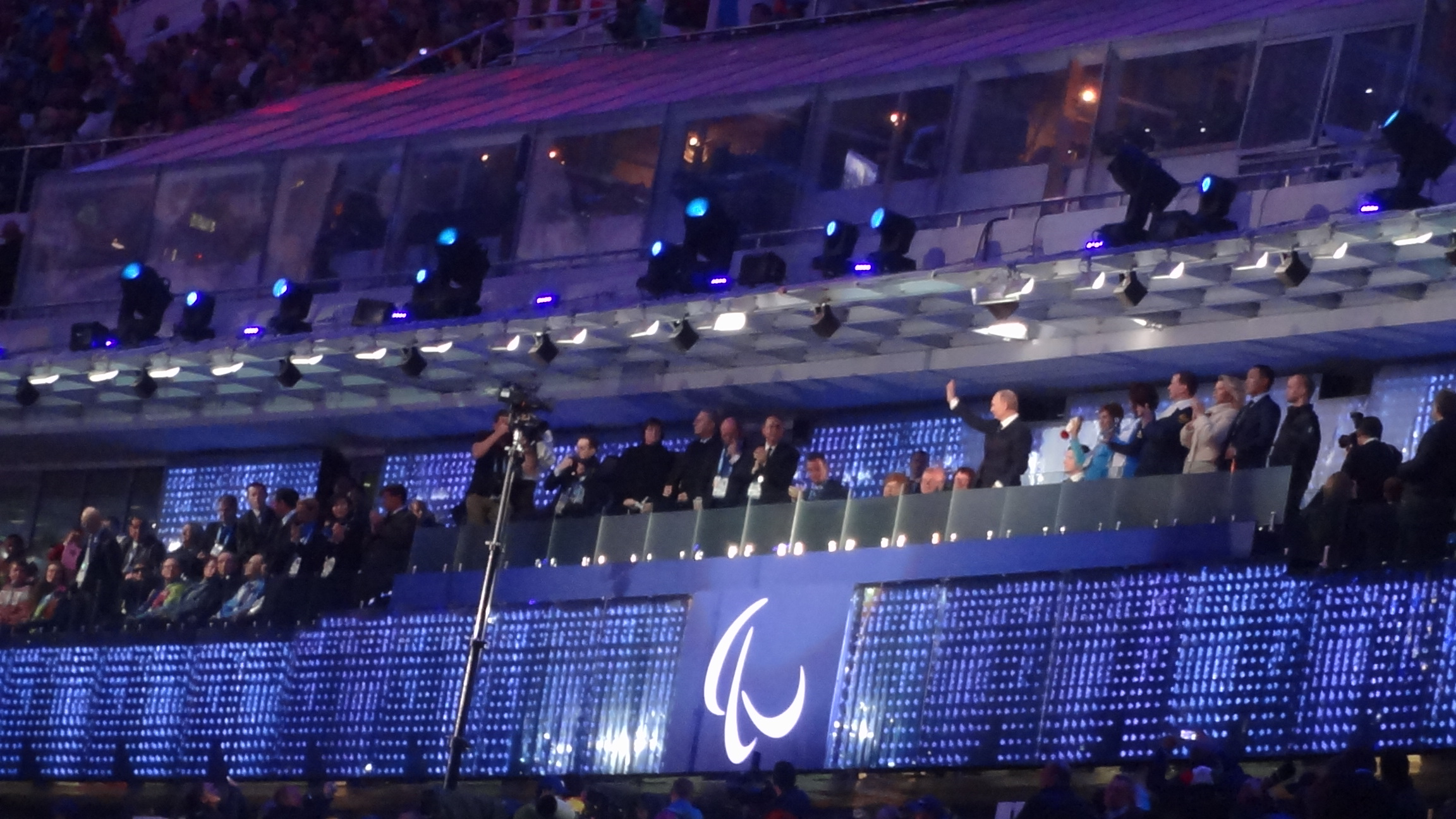 Церемония открытия Паралимпийских игр 2014 в Сочи.JPG