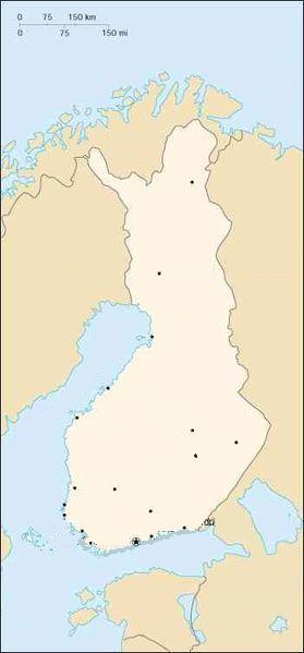 000 Finlanda harta