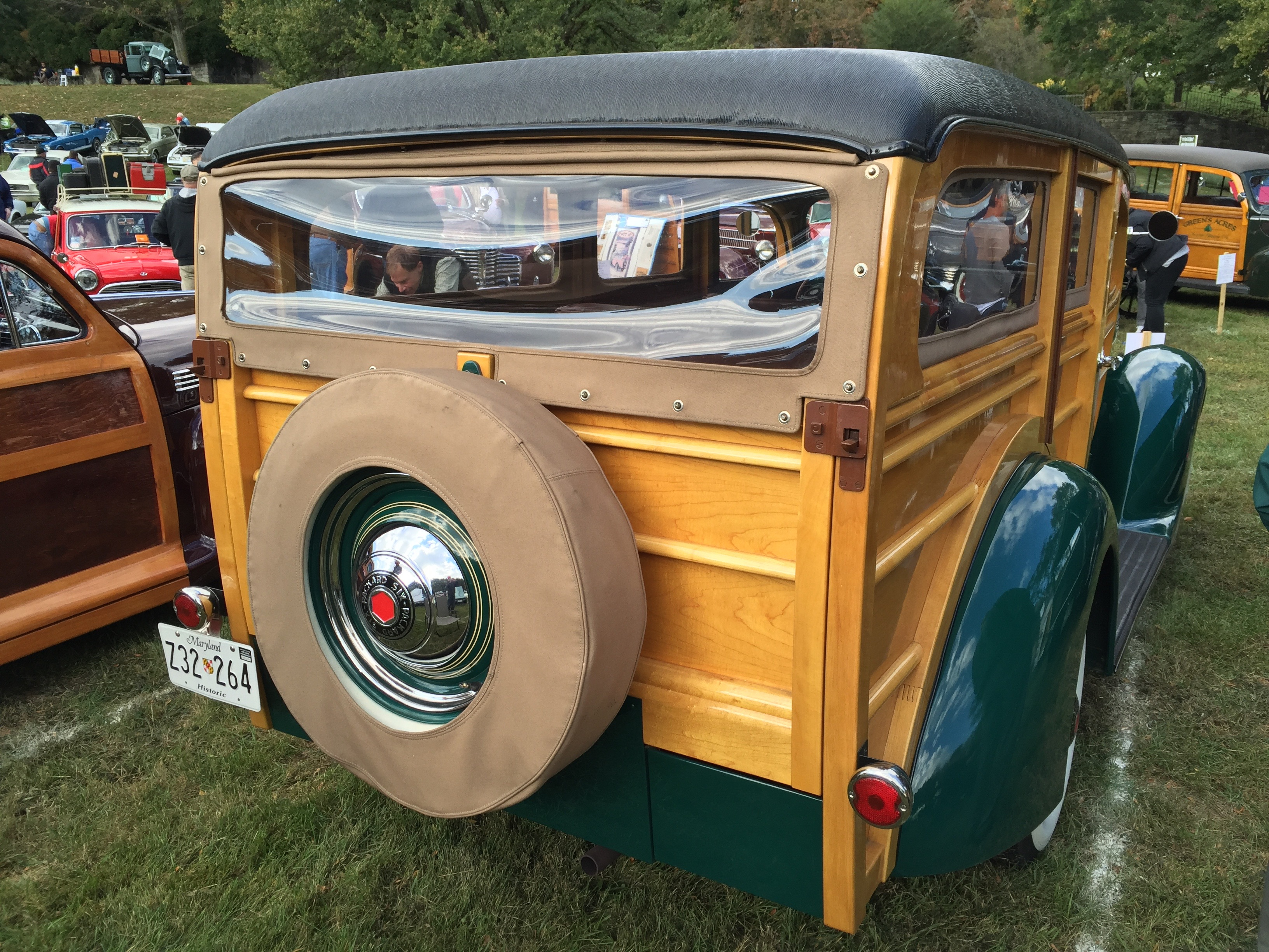 File:1937 Packard Six Series 115C Station Wagon body by