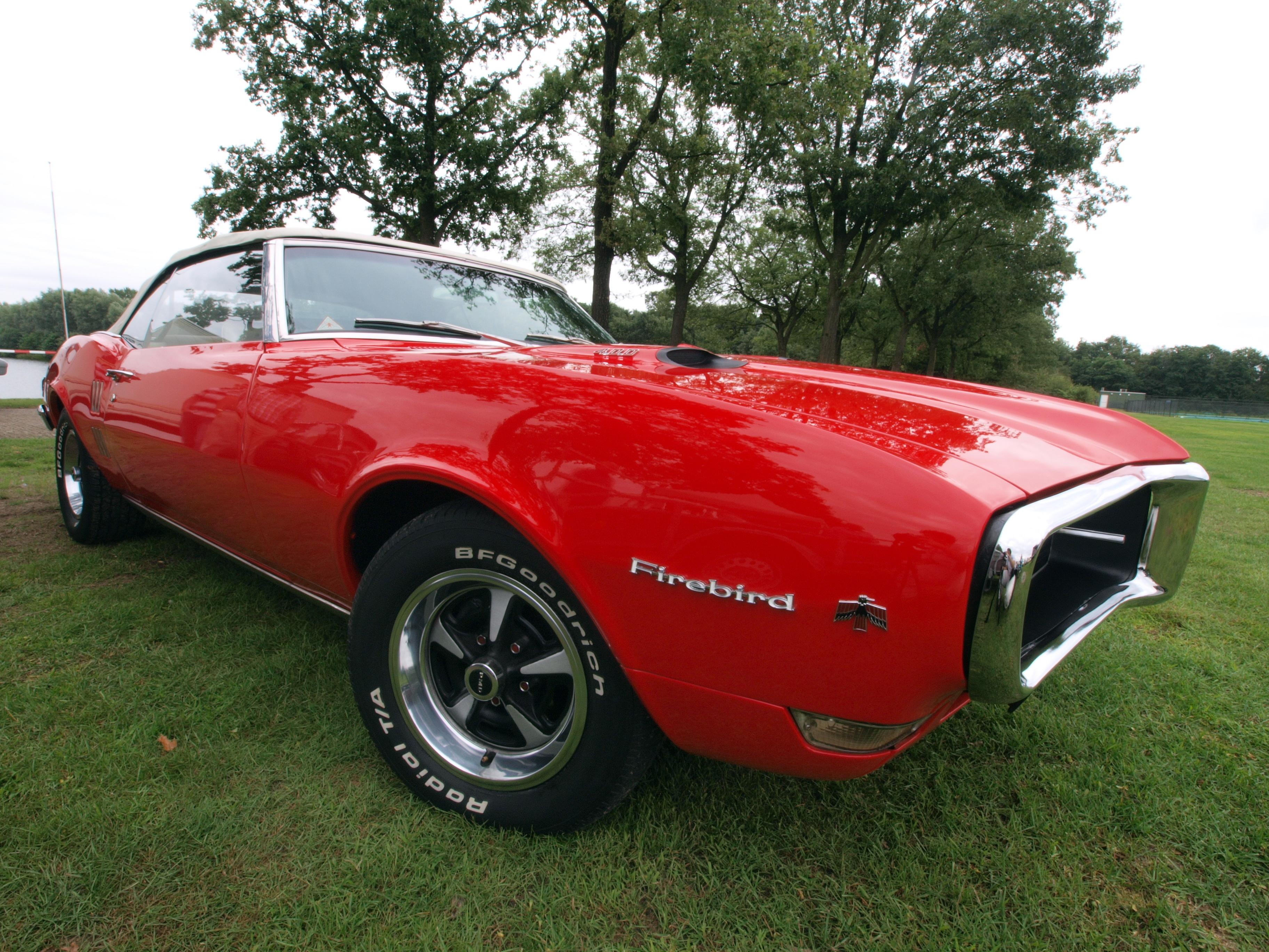 Pontiac Firebird Car Cover
