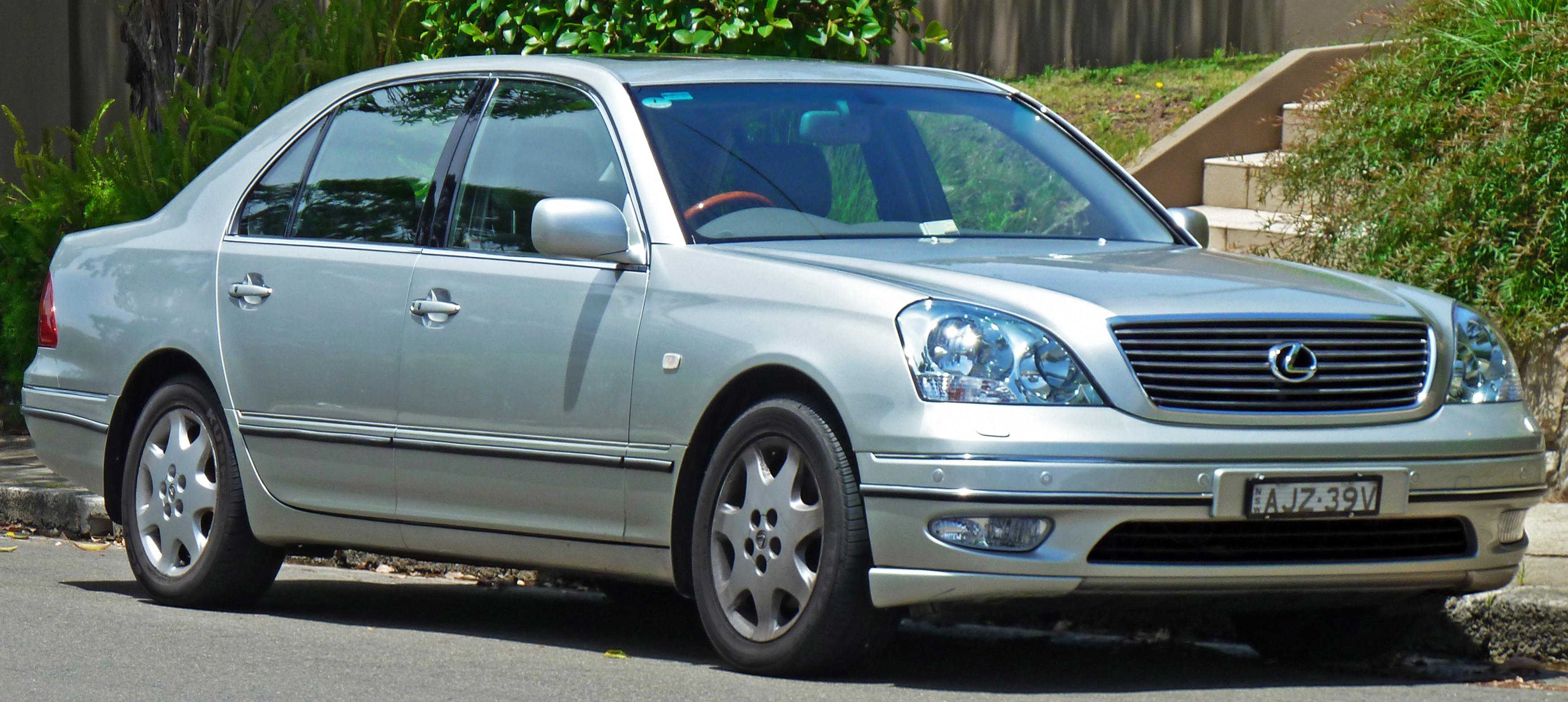 File 2000 2003 Lexus Ls 430 Ucf30r Sedan 2011 01 05