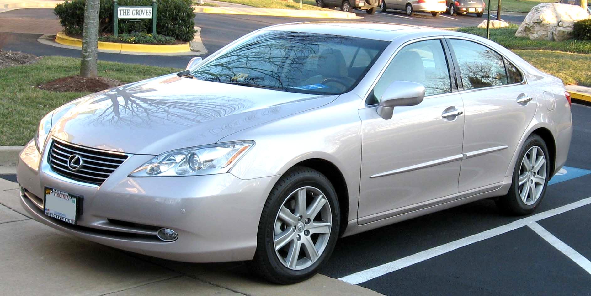 File:2007 Lexus ES350 2
