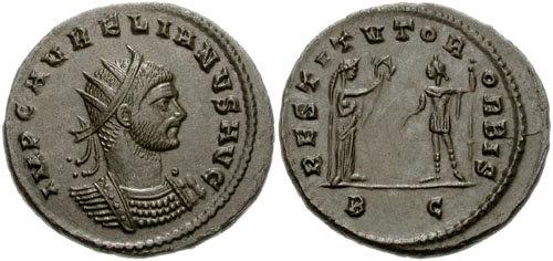 Расшифровка Нострадамуса, Библии и многое другое - Страница 2 AURELIANUS_ANTONINIANUS-RIC_V_368-758692