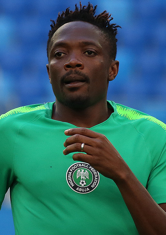 The 25-year old son of father (?) and mother(?) Ahmed Musa in 2018 photo. Ahmed Musa earned a  million dollar salary - leaving the net worth at 6 million in 2018
