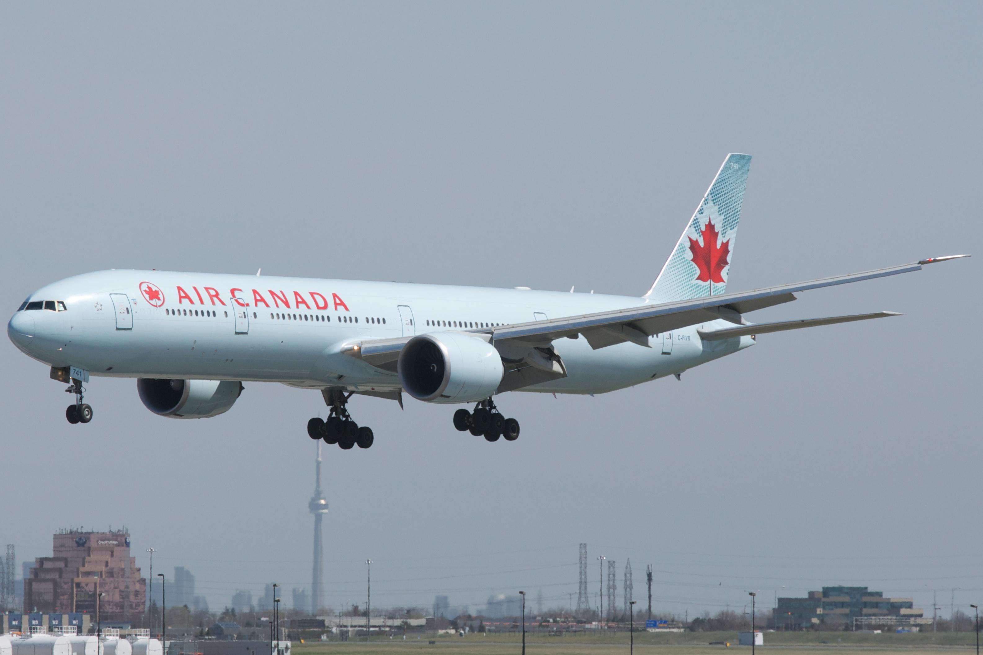 Air Canada Short Haul Flights From Kitchener