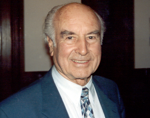 Albert Hofmann, Lugano, Switzerland, at the 50th Anniversary of LSD Conference sponsored by Sandoz Pharmaceuticals and the Swiss Psycholitic Association of Analysts