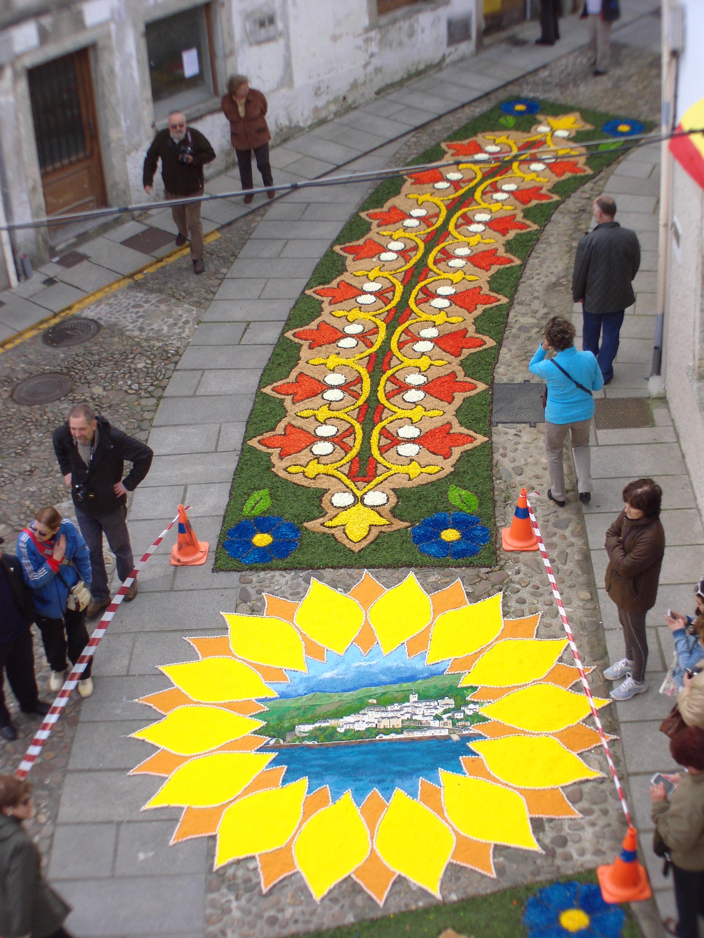 Filealfombras Florales Del Corpus Christi En Castropoljpg