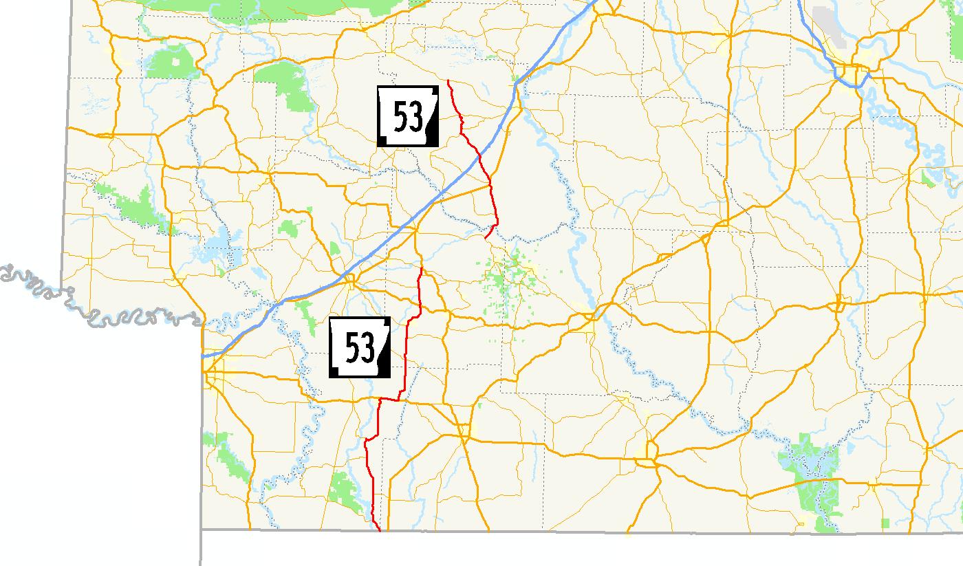 Arkansas Highway 53 - Wikipedia