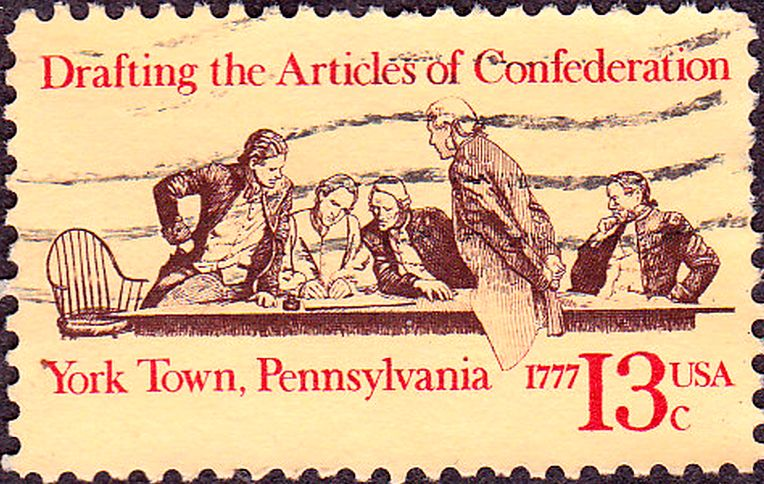 Stamp for the Articles of Confederation