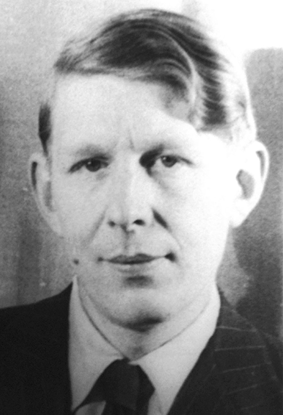 Photo of W. H. Auden