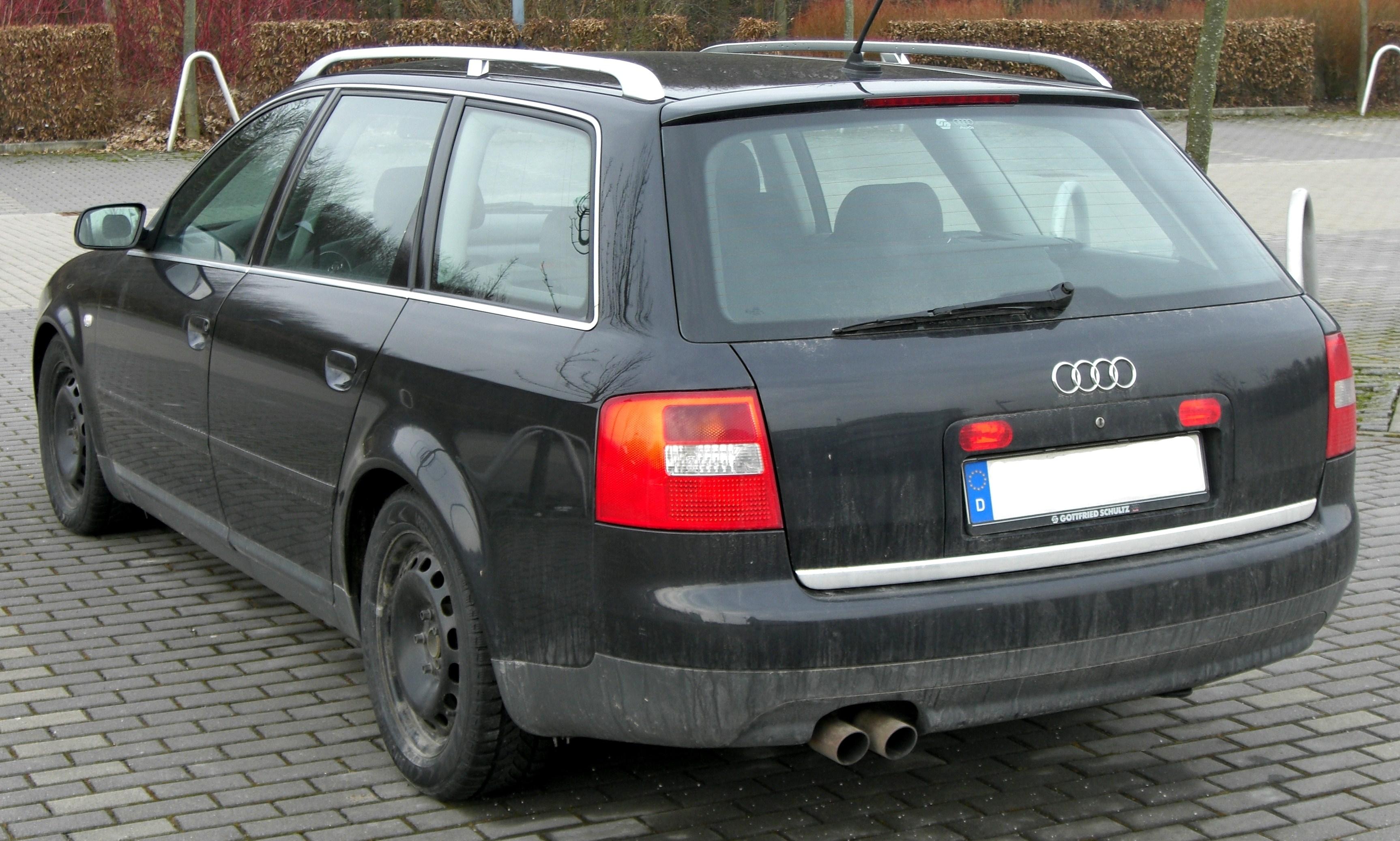 File Audi A6 C5 Avant 20090215 Rear Jpg Wikimedia Commons